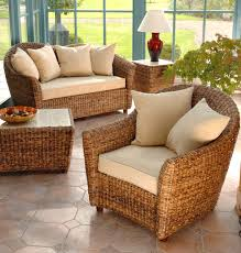 2 Piece Suite Sofa Cane Conservatory Furniture Banana Leaf Furniture Cane Candle