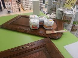 bricolage cuisine repeindre meuble de cuisine juste bricolage peinture sur bois