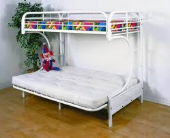 Futon Bunk Bed With Mattress EVA Furniture - Futon bunk bed with mattresses