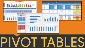excel pivot table tutorial 2010 pivot table excel tutorial 2010 2013 2016 pivot tables slicers