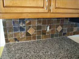 slate backsplash in kitchen slate backsplash installation