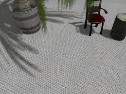 second marketplace antique tile floor honeycomb tile floor