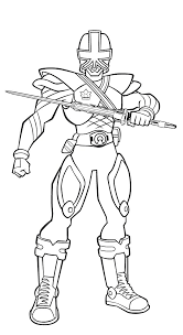 14 power rangers coloring pages images