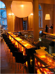 Restaurant Reception Desk by Illuminated Reception Desk Wooden Translucent Marble Yellow
