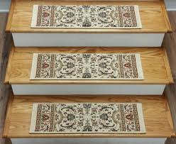 Stair Tread by Finished Carpet Stair Treads Tread Sets For Stairs Carpet Treads