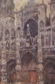 meteo sur mon bureau la cathédrale de rouen le portail temps gris claude monet 1892