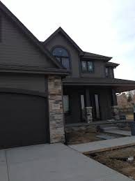 modern house exterior sherwin williams gauntlet gray and sherwin