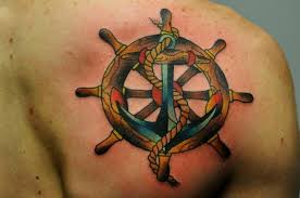 cross anchor tattoo design in 2017 real photo pictures images