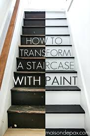 stair ideas painted stair ideas how to paint stairs the easy way painted