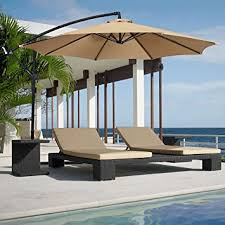 Patio Umbrellas Offset Best Choice Products Patio Umbrella Offset 10