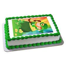 luck irish edible image cake decoration