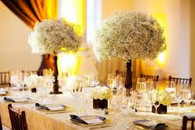 baby breath centerpieces babysbreath poof versus hydrangea help weddingbee