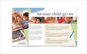 ngo brochure templates 13 beautiful child care brochure templates free premium templates