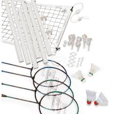 eastpoint sports badminton set with caddy walmart com