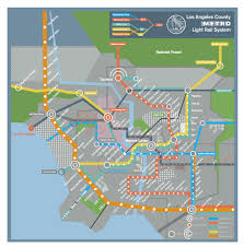 Map Of Beverly Hills Los Angeles by A Futuristic Map Of The Los Angeles Subway System As Featured In