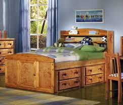 Captain Twin Bed With Storage Bedroom Oak Wooden Captain Bed With Storage Headboard And Drawer