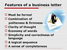 Business Letter Language 6 business letters