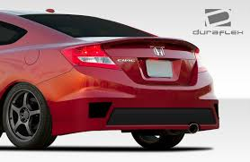 honda civic 13 free shipping on duraflex 12 13 honda civic 2dr bisimoto edition