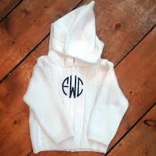 the initial design monograms embroidery personalized gift