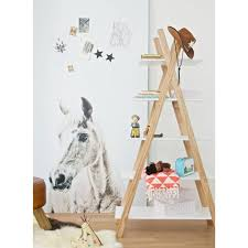 Pine Bookcase Lef Collections Tipi White Pine Bookcase 39x85x177cm Lefliving Com