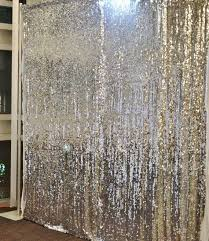 wedding backdrop linen 9ft by 9ft silver sequin photography backdrop for ceremony wedding