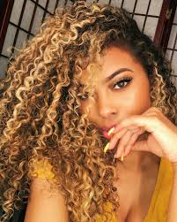 pictures of blonde highlights on natural hair n african american women go follow blackgirlsvault for more celebration of black beauty