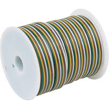 hopkins towing solutions pvc primary 4 wire trailer wire spool