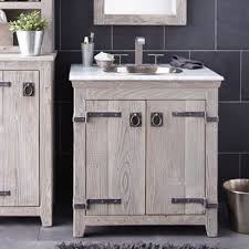 36 In Bathroom Vanity With Top Americana Collection Handcrafted Bathroom Furniture Native Trails