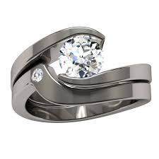 womens titanium wedding bands womens titanium wedding rings best 25 titanium engagement rings