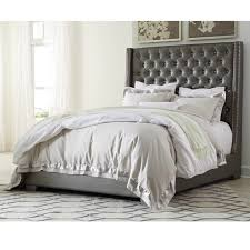 rent to own ashley coralayne queen bed frame a rentals home