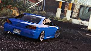 nissan tuner cars nissan silvia s15 add on replace tuning gta5 mods com