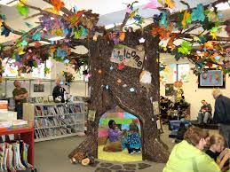 reading tree in the children s library park falls library