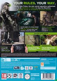 as9p41 tom clancy u0027s splinter cell blacklist