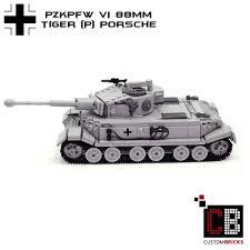lego porsche instructions custombricks de lego ww2 wwii wehrmacht sdkfz panzer tank