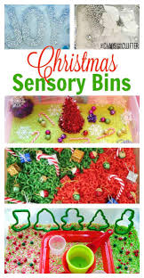 christmas sensory bins sensory bins christmas and ideas