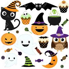 Happy Halloween Icons Trick Or Treat Stock Photos Royalty Free Trick Or Treat Images