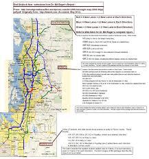 Seattle Bike Trail Map by Dr Bill Eager Seattle U201cend Gridlock Now U201d