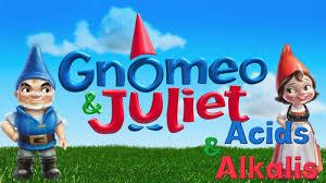 gnomeo juliet science acids metals sarafalcone