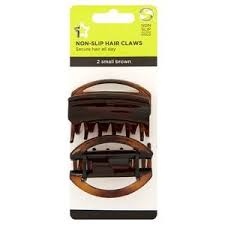 hair claws superdrug non slip hair claws small brown x2 superdrug