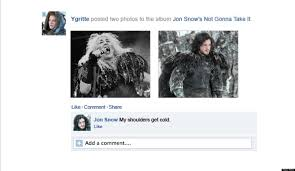 How To Put Memes On Facebook Comments - what if game of thrones took place on facebook photos huffpost