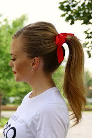 ribbon ponytail stylish ways to wear hair ribbons
