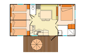 mobilhome 3 chambres location cing mobil home relax 6 personnes 3 chambres