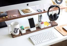 Organizer Desk Gather Minimal Modular Organizer Gadget Flow