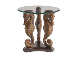Lamp Tables Landara Sea Horse Lamp Table Lexington Home Brands