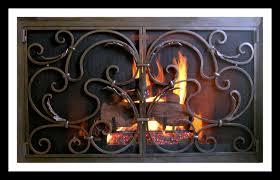 custom hand forged firescreens for your fireplace u2013 ironforge com