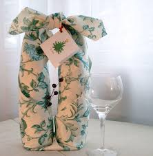 gift packaging for wine bottles wrap drink and be merry handmade furoshiki gift wrap oh my