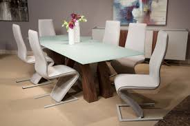 Michael Amini Dining Room Furniture by Aico Trance European Modern Rapture Glass Top Dining Set Usa