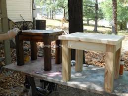 Free Plans To Build End Tables by How To Build A Side Table U2013 Designs By Studio C
