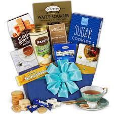 gift basket ideas for women tea cookies gift basket classic by gourmetgiftbaskets