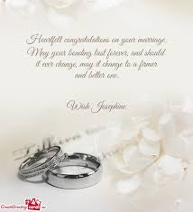 congratulations on your marriage cards heartfelt congratulations on your marriage free cards